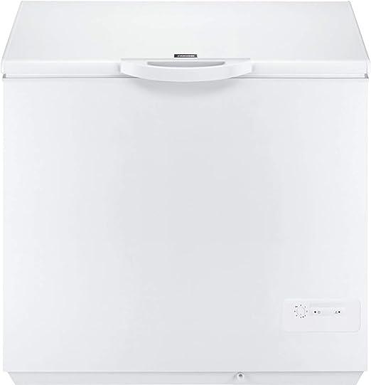 Zanussi ZFC26400WA Arcón congelador, 260 litros, 45 Decibelios ...