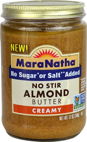 Creamy Stir (MaraNatha Creamy No Stir Almond Butter - No Sugar Added No Salt Added 12 oz.)