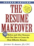 The Resume Makeover, Jeffrey G. Allen, 0471436402