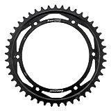 Supersprox RFE-2011-45-BLK Rear Steel Sprocket Black For Speed Triple T509 98, Sprint ST 99 00 01 02 03 04 05 06 07 08 09 10 11 12 13