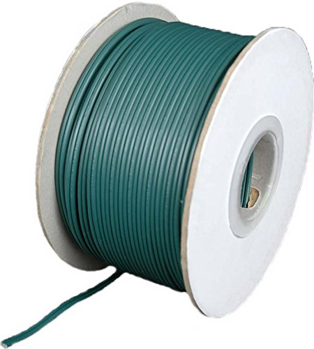 (Holiday Lighting Outlet Green SPT-1 Commercial Grade Bulk Blank Wire, 7 Amps, 250 ft)