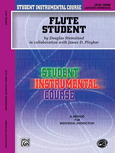 Student Instrumental Course Flute Student: Level III