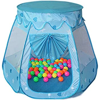 amtinyjoy Children Toys 1 Year Kids Toys Tents 2 Year Old Girl Toys Blue  Toy for