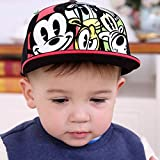 PerfectPrice Baby Baseball Caps Baby Girls Boys Hat Toddler Boys Hipop Caps Size : XL : 54CM For 5-6 Years