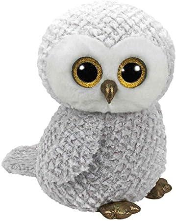 Ty - Beanie Boos Owlette, búho, 23 cm, Color Gris (United Labels Ibérica 37086TY): Amazon.es: Juguetes y juegos