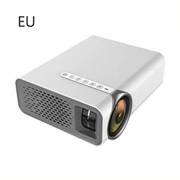 Hellycuche Mini proyector LED YG530 Proyector de Video portátil ...