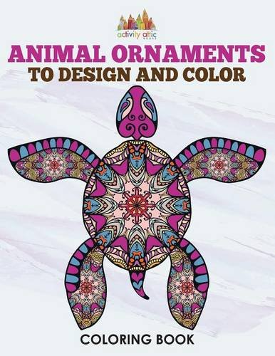 Download Animal Ornaments to Design and Color Coloring Book PDF