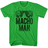 American Classics Macho Man Men's Ooold School T-Shirt Green 2XL