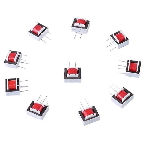 10pcs/pack 600: 600 Ohmios Transformadores de Audio del EI14 1: 1 Transformador