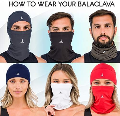Balaclava Face Mask Skull Cap Helmet Liner Anti Dust Wind/& Sports Fleece Pack