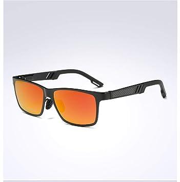 Gafas De Sol Polarizadas para Conducir para Hombre Gafas HD Al-MG Estructura De Metal Ultra Liviana,E: Amazon.es: Deportes y aire libre