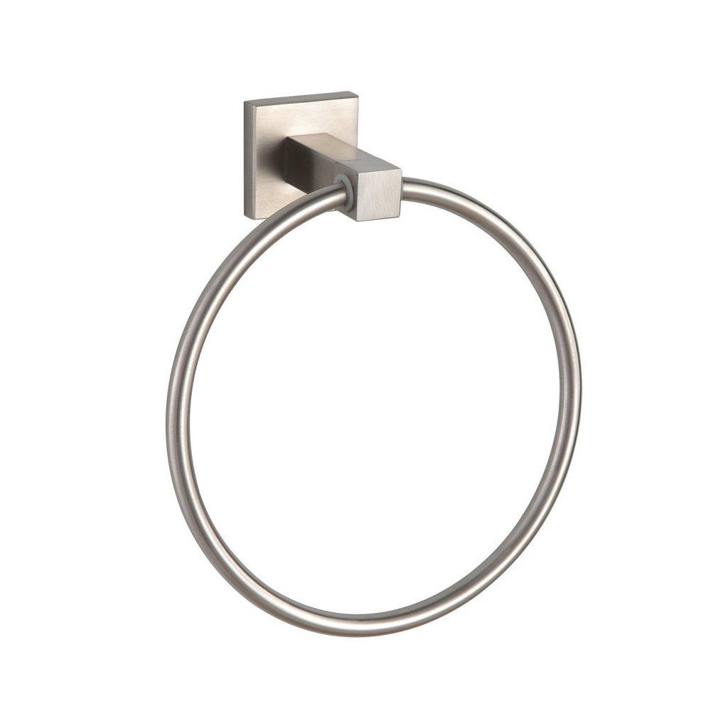 CRACCO SPA Bathroom Lavatory Towel Ring SUS304 Stainless steel Wall Mount Brushed Nickel