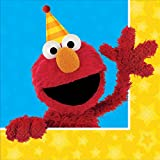 BirthdayExpress Sesame Street Party Supplies 32 Pack Lunch Napkins