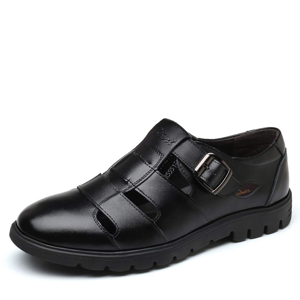 Corriee Sandals Mens Cool Shoes Flats Dress Shoes for Men Wedding Party Mens Work Footwear