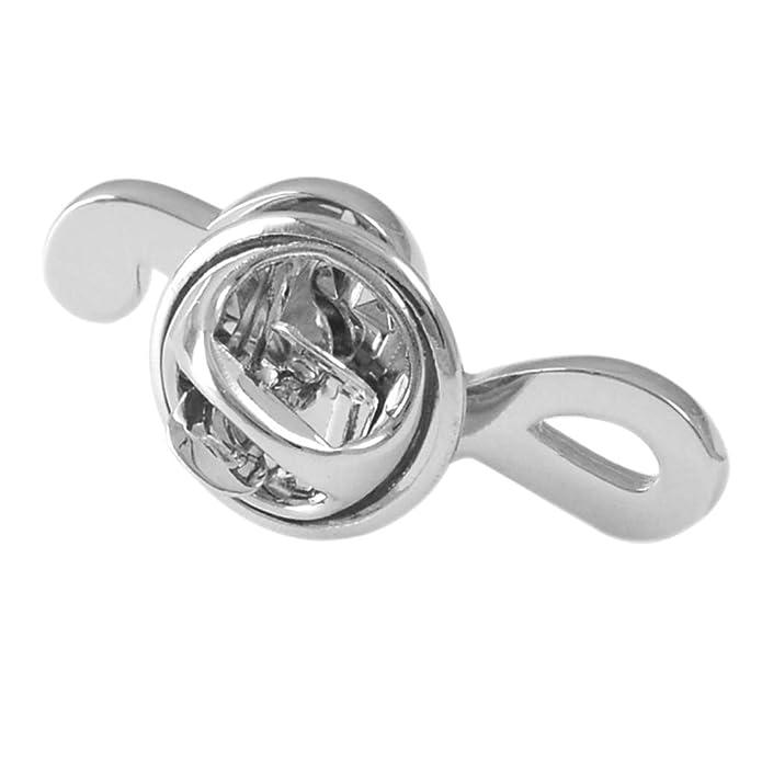 IPOTCH Broche de Solapa Pin Insignia Ramillete Forma de Nota Musical Joyería para Corbatas, Trajes, Gorro, Camisa