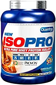 QUAMTRAX PROTEINA WHEY ISOPRO CFM CREME BRULEE 2267 gr