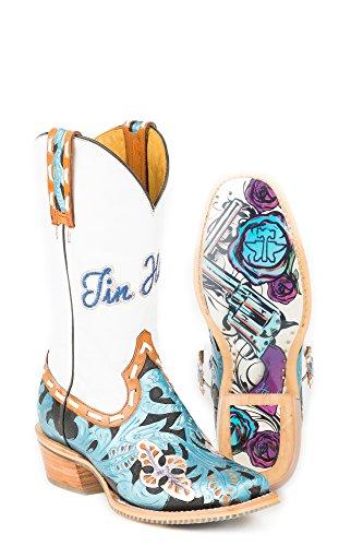 Tin Haul Shoes Womens Wild Blue Multi ffameRHrmU