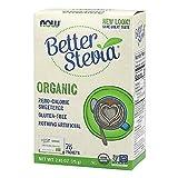 Cheap NOW Foods Organic Better Stevia, 75 Packets
