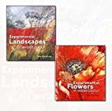 img - for Ann Blockley's Experimental Flowers in Watercolour and Experimental Landscapes in Watercolour Collection 2 Books Bundle book / textbook / text book