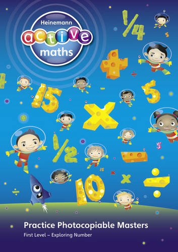 Heinemann Active Maths - Exploring Number - First Level Practice Photocopiable Masters: Book (Photocopiable Masters)