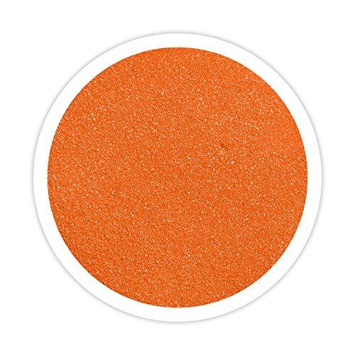 Sandsational Tangerine Unity Sand~1.5 lbs (22 oz), Orange Colored Sand for Weddings, Vase Filler, Home Décor, Craft Sand