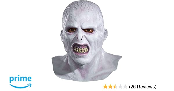 Amazon harry potter voldemort deluxe adult latex mask clothing solutioingenieria Images
