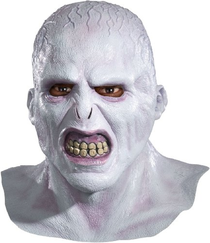 Voldemort Costume Halloween (Harry Potter Voldemort Deluxe Adult Latex)