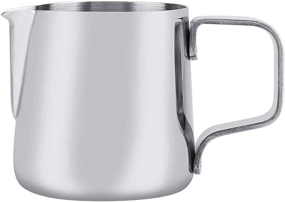 Edelstahl Milchschaumkrug Milchschaumbecher Kaffeemaschine Krug M2I4