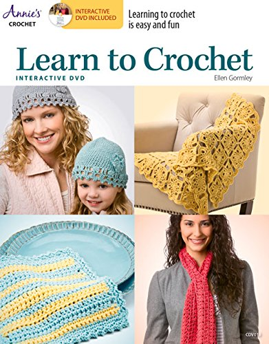 Read Online Learn to Crochet with Interactive Class DVD PDF
