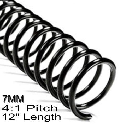 Blue PMS 300 C Spiral Binding Coils 8mm 4:1 5//16 x 36-inch pk of 100