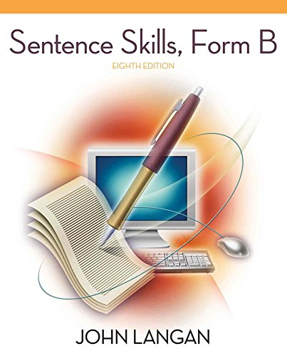 Skills Form (Sentence Skills: A Workbook for Writers, Form B)