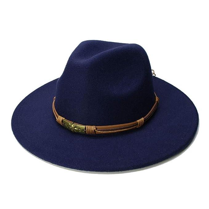 582a81b01bbf MYCHOME Nuevas mujeres hombres lana Vintage Gangster Trilby fieltro ...