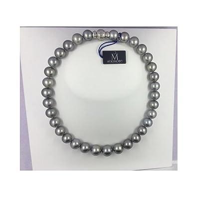 ca4ba8ee6622 Collar Mikimoto Mujer kfrr495 perlas perlas  Amazon.es  Joyería