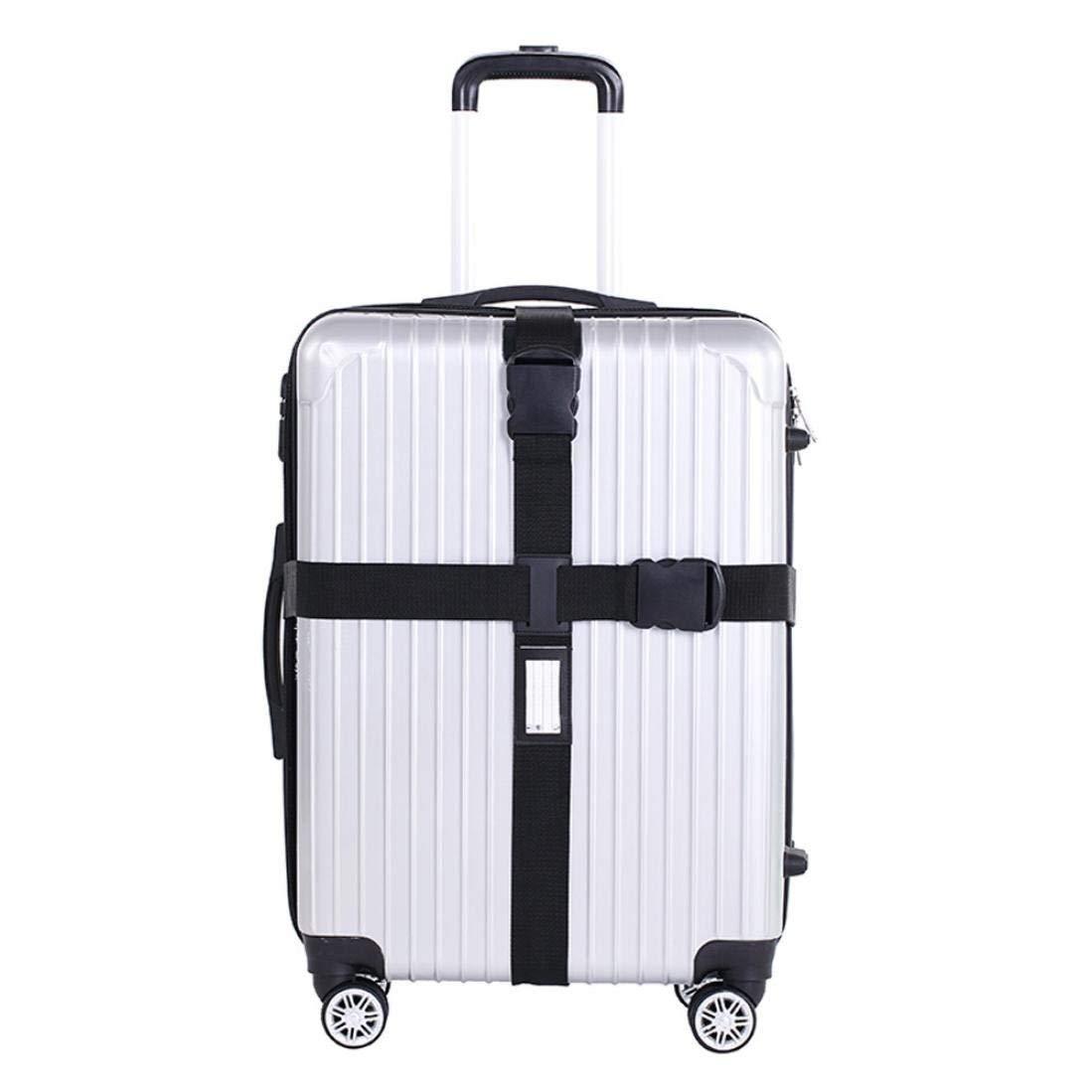 Li-ly Bagage de Voyage Sangle Valise Bagage Bagage Emballage s/écuris/é Ceinture en m/étal Fermoir Ceinture Durable et Pratique
