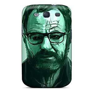 Hot Tpu Cover Case For Galaxy/ S3 Case Cover Skin - Breaking Bad Walter White