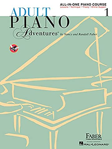 Adult Piano Adventures All-in-One Piano Course Book 1: Book with Online Media (Piano Sheet Music Easy Adult)