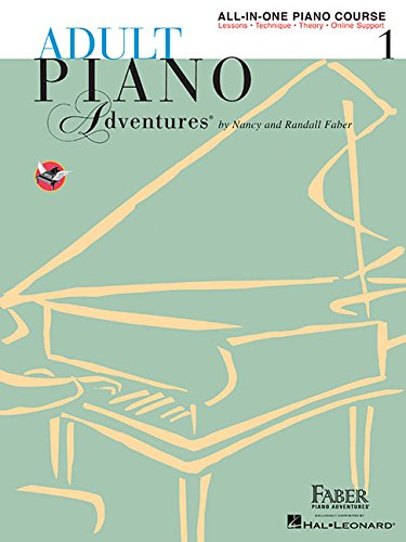 Adult Piano Adventures All-in-One Piano Course Book 1: Book with Media Online (Tapa Blanda)