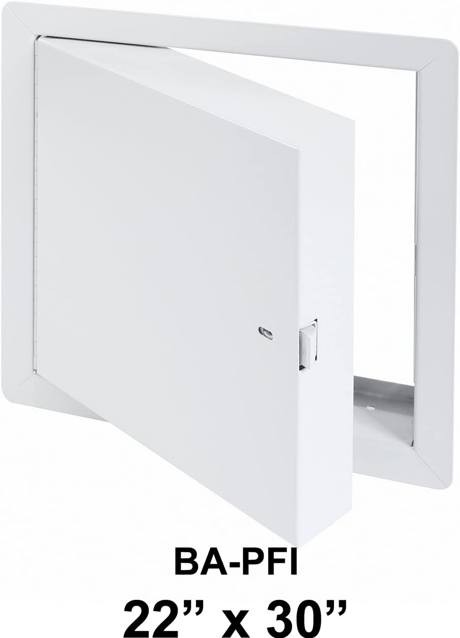 """22"""" x 30"""" - Fire Rated Insulated Access Door with Flange - Cendrex"""