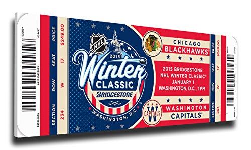 Winter Classic Mega Ticket (NHL Washington Capitals 2014 Winter Classic Canvas Mega Ticket, Regular)
