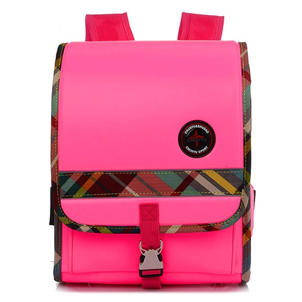 SYAODU bags Mochila para de Mochila Escolar de para PU para niños y niñas, Mochila Impermeable y Personalizada para niños - Ligera, Adecuada para Escuela, Viajes, Compras (Color : Azul) 3b4253