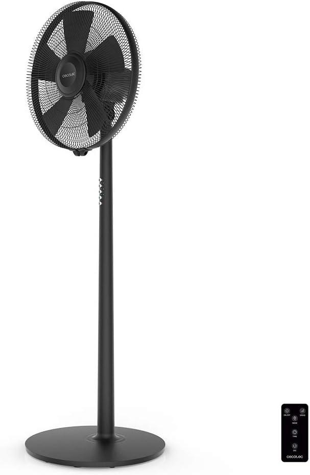 Cecotec Ventilador de Pie ForceSilence 550 Smart. 5 Aspas 16
