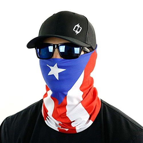 Hoo-rags Puerto Rico Flag Bandana