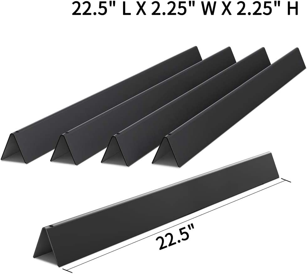X Home 22.5 inch Sturdy Flavorizer Bars for Weber Spirit 300 Series, Genesis Silver & Gold B C, Porcelain Steel, 7536