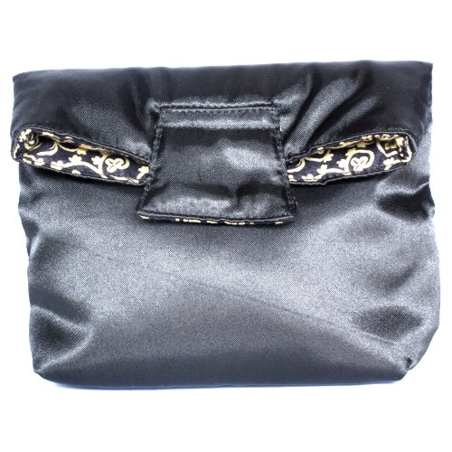 satin-cotton-cosmetic-bag-with-magnet-flap-closure-reversible-small-black-gold-vine
