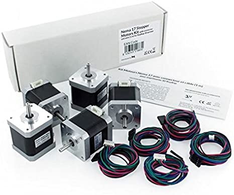 BQ Nema 17 Stepper Motors - Kit de Motores Nema 17 con ...