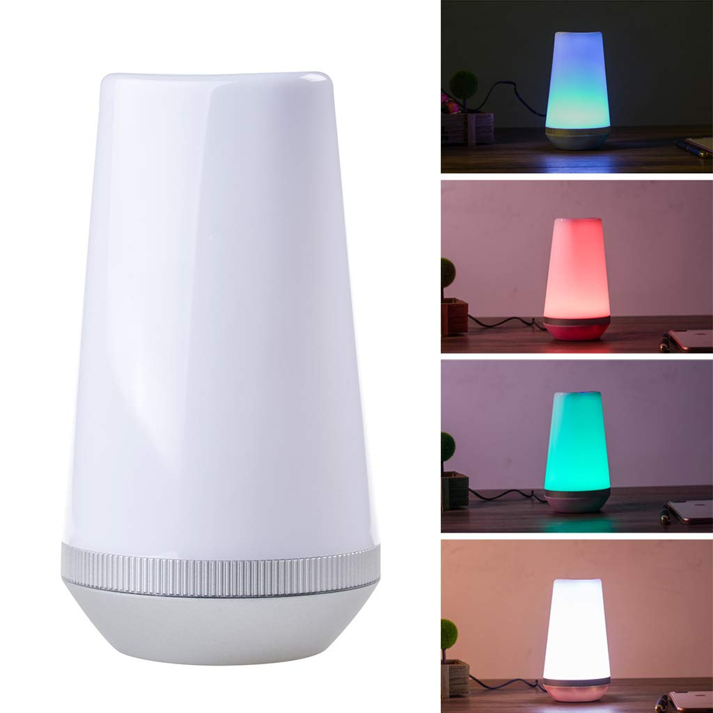Intelligent Scene Dimming Colorful Table Lamp Mobile Phone Voice Control Home Warm Light Night Light