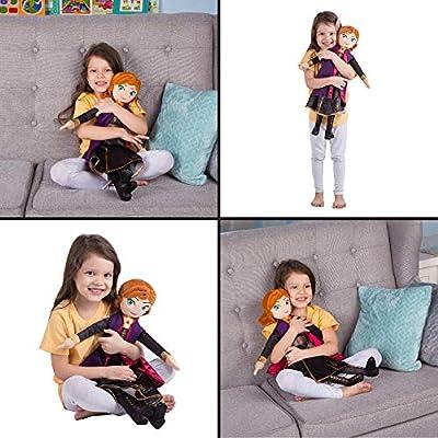 Franco Kids Bedding Super Soft Plush Cuddle Pillow Buddy, One Size, Disney Frozen 2 Anna: Home & Kitchen