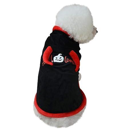 Sannysis Disfraz de Perro de Halloween, Disfraz cálido para ...