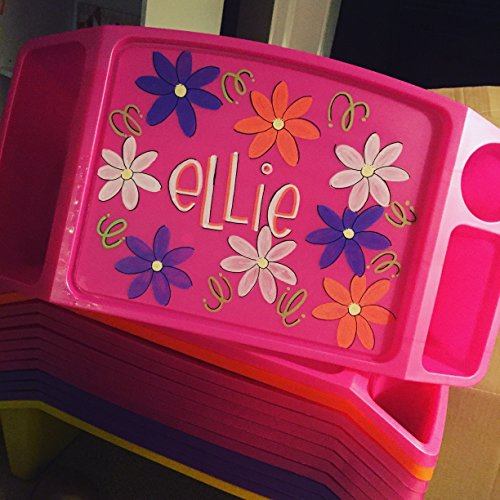Hand Painted Lap Tray- Ellie Font