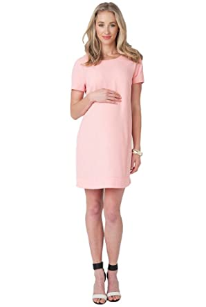 5337edf38cf Image Unavailable. Image not available for. Color  Ripe Maternity Sara Baby  Shower Shift Dress ...